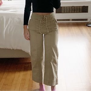 GAP Tie-Up Pants